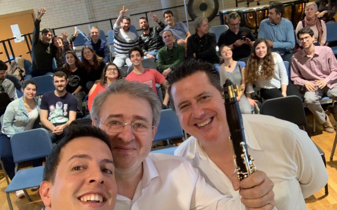Más de 30 clarinetistas asisten al Backun Mallorca Experience