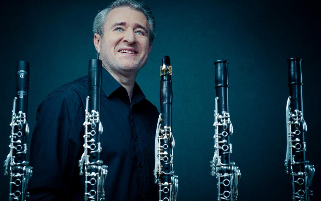 Josep Fuster presenta los clarinetes Backun en Mallorca