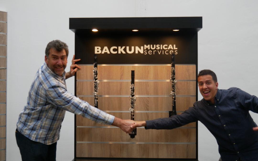Musicasa, tienda oficial Backun en las Baleares